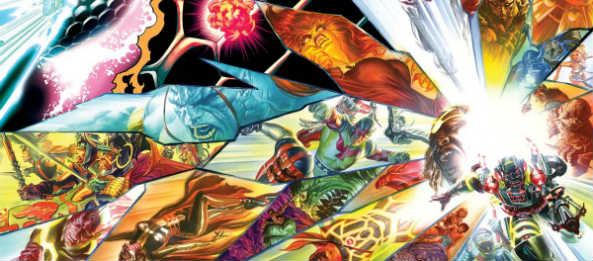 Kirby Genesis art by Alex Ross